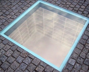 Bebelplatz Book Burning Monument- jpg