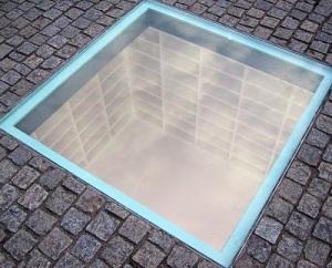 Bebelplatz Book Burning Monument- jpg