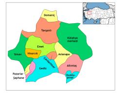 Kutahya_districts