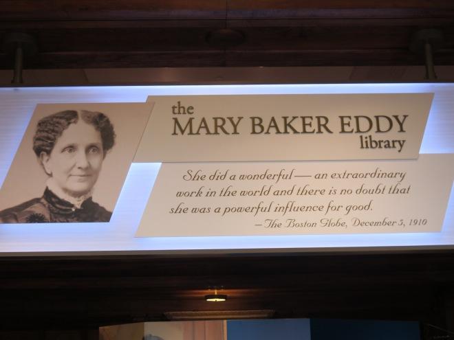 mary eddy baker kütüphanesi