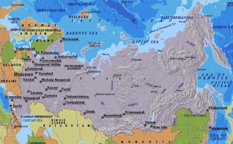 moskova,-rusya-harita